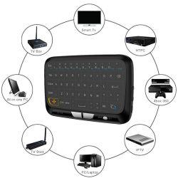 Luft-Mäuseuniversalfernsteuerungs der Berührungsflächen-H18 drahtlose Minider tastatur-2.4G für androiden Fernsehapparat-Kasten