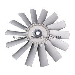 14 pequenas lâminas ajustável para o rotor do ventilador axial