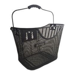 プラスチックQr (HBK-107)の鋼鉄物質的な自転車のバスケット