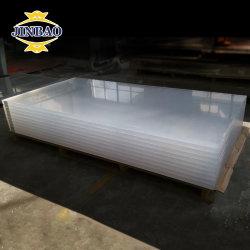Jinbao Grosso 6FT X 10FT 5X7 4X8 FLEXÍVEIS DE ACRILICO TRANSPARENTE à prova de PMMA Folha de acrílico de placa de plástico para venda