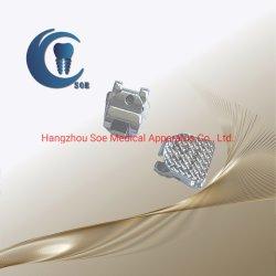 Factory Metal Self-Ligating Ortho Bracket Roth/MBT Dental Product(공장 금속 자체 리거팅 Ortho 브래킷 Roth/MBT 치과 제품