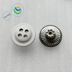 공장 금속 4 구멍 장식적인 합성 수지 놋쇠 단추