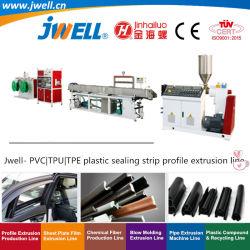 Jwell - ПВХ TPU TPE пластиковые уплотнительная лента профиль экструзии линии переработки сельскохозяйственной бумагоделательной машины механизма
