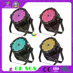 屋外の照明54X3w RGB 3in1同価LED