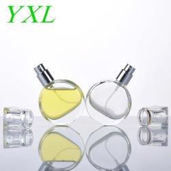25ml Perfume de vidrio de lujo Atomizador de vidrio envases cosméticos ronda atomizador