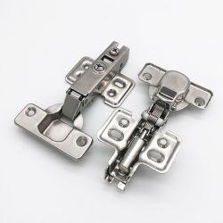 الأثاث الفولاذي الأجهزة إغلاق خزانة الباب الرخوة المفصلة الهيدروليكية المخفية