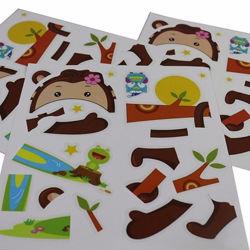 Настройка печати мелованная бумага персонализированных рекламных наклеек