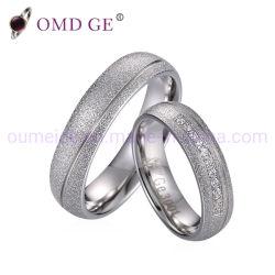 Anel luminoso Zircon jóias de prata Mulheres Homens Acessórios