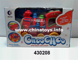 De hete Trein van het Stuk speelgoed B/O van de Verkoop Plastic (430208)