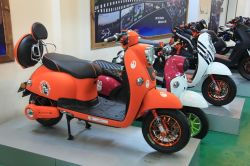 Das meiste kühle CNC-elektrische Roller-Motorrad Ebikes 1000W (HD1000W-2)