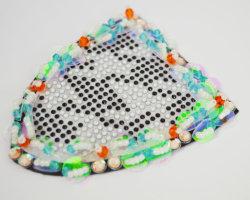 Perles artisanal Rhinstones avec paillettes Patch