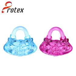 다채로운 아크릴 느슨한 수정같은 플라스틱 핸드백은 펜던트를 구슬로 장식한다