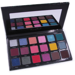 Imprägniern pigmentierte 18 die Farben-kosmetische Paletten-Augenschminke-Augen-Verfassung