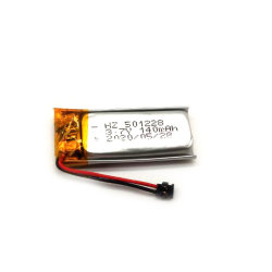 Производитель аккумулятора 501228 полимерные литиевые Ячейка 140 Мач 3,7В Lipo аккумулятор OEM/ODM для мини-Packet Tracer отслеживания GPS