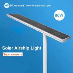 80W solaire Lampe LED intégrée à l'extérieur de la rue
