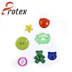 Différentes formes de commerce de gros bouton bébé pour les enfants