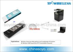 Presentatore senza fili di rf con il regolatore del periferico dell'indicatore del laser