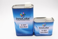 Haute brillance Basecoat solide de l'aluminium de la peinture de carrosserie peinture Auto Perlescent Pigment métallique