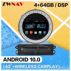 DSP 64G Android 10 Multimedia Player voor BMW Mini 2006 2007 2008 2009 2010 2011 2012 2013 Audio Radio Stereo GPS-navigatie-hoofdeenheid