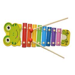 Música de madeira brinquedo Xylophone Frog (81941-1)
