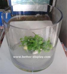 Cilindri liberi di plastica su ordinazione del plexiglass
