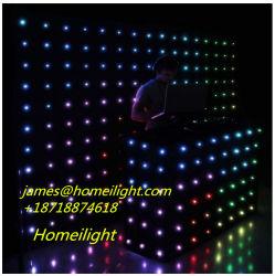 Tenda con effetto Starlit della visualizzazione, tenda Screem del LED del LED con effetto di visione