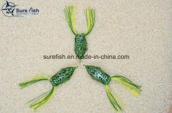 3D Lokmiddel van de Visserij van de Kikker van het Lichaam van het Oog Zachte Plastic Holle