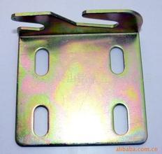 Gele Zink Geplateerde het Stempelen van het Metaal Plaat voor Machines