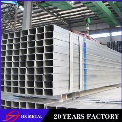 Feux de l'acier galvanisé à chaud Section rectangulaire matériau laminé à froid pour la construction de tuyaux en acier doux