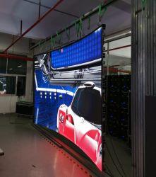 Schermo curvo flessibile dell'interno della parete del quadro comandi dell'indicatore astuto dell'affissione a cristalli liquidi LED video con la scheda di 500*500mm LED