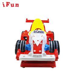 Com moedas F1 Simulator Kiddie Interior Giro máquinas de fibra de vidro para venda