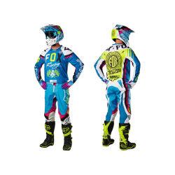 Bleu Jerseys/Pantalon de course de moto 360 Rohr Motocross MX le pignon (L'AGS04)