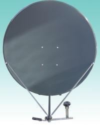 イラクMarketのためのKu Band 90cm Satellite Dish TV Antenna