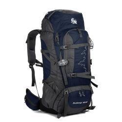 Venta caliente nueva moda mochila de gran capacidad Senderismo Trekking Bolsa con tapa de la lluvia para la Escalada y montañismo mochila de viaje