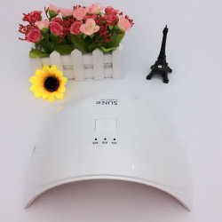 Uso doméstico Secador de uñas Sol 9c LED Lámpara UV uñas