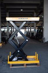 Örtlich festgelegte elektrische minihydraulische Scissor, Aufzug-Tisch/Scissor Aufzug-Plattform