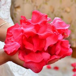 Bon marché de pétales de rose artificielle pour les mariages mariage