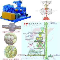 Matériau feritlizer chimique en poudre double briquette de compactage maker hydraulique de rouleau