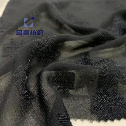 Ym9261 como la seda imitar las flores diseño tejido poliéster para vestir a Marina