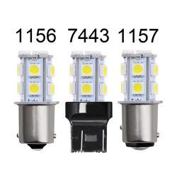 المصنع السعر المباشر الأدنى 1156 1157 12 فولت 6000 كيلو فولت 13SMD 5050 مصباح المؤخرة LED الأوتوماتيكي