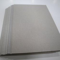 Bag Inserir Cartão Laminado de papel Kraft de 3 mm da placa de cinza