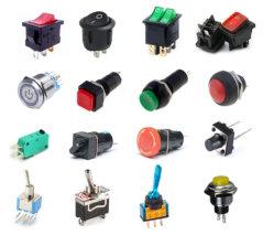 /O interruptor de báscula/mini-Interruptor de báscula/Botão Push/Interruptor oscilante/Interruptor Eléctrico/Interruptor de plástico/Micro Interruptor