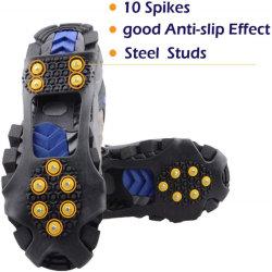 10 حذاء منع الانزلاق حذاء الثلج والجر الجليد مربط مصنعي المعدات الأصلية (OEM) الشركة المصنعة