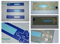 Botões de relevo gold plating abóbadas de Interruptor de Membrana (MIC-0072)