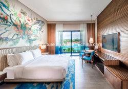 Kingsize queensize tweepersoons, eenpersoons, luxe houten hoofdbed voor 5-sterren hotel