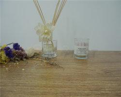 Les coquillages de retour de mariage Gel clair tasse bougie