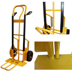 Горячая продажа OEM-Mesh складные стальные сад инструмент тележек цена, оптовая продажа сад тележки