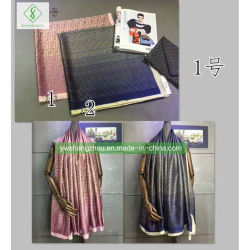 Soft nova moda acetinado impresso Seda Xale Impresso Lady Cachecol