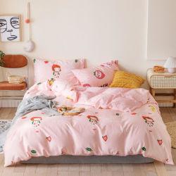 100% algodão Egípcio Impresso Conjuntos de roupa de cama de impressão reactiva/folha/edredão cobrir