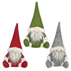 Weich Gefüllte Plüsch Baby Spielzeug Frohe Weihnachten Lange Hut Schwedisch Santa Gnome